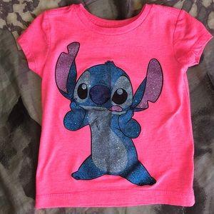Disney store Stitch short-sleeved T-shirt